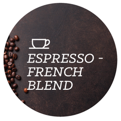 Espresso - French Blend - Java Bean Plus