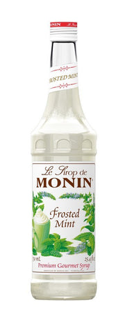 Monin® Syrups - Frosted Mint - Case of 6/750 mL - Bulk Coffee Beans