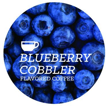 Blueberry Cobbler Flavored Coffee Beans