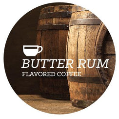 Flavored Coffee - Butter Rum - Java Bean Plus