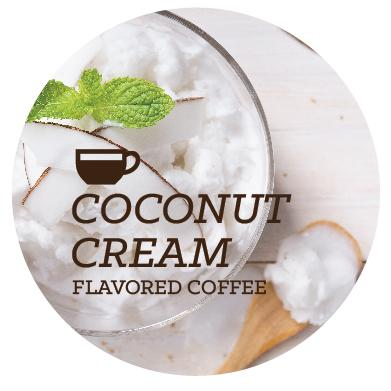 Flavored Coffee - Coconut Cream - Java Bean Plus