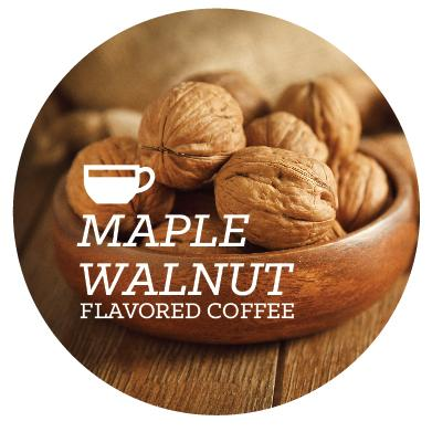 Flavored Coffee - Maple Walnut - Java Bean Plus