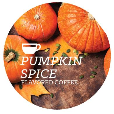 Flavored Coffee - Pumpkin Spice - Java Bean Plus