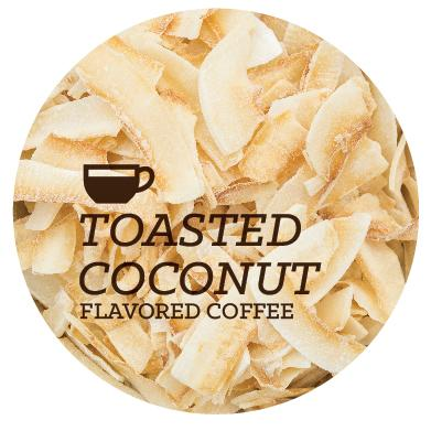 Flavored Coffee - Toasted Coconut - Java Bean Plus