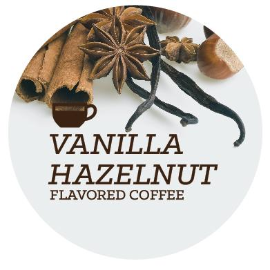 Flavored Coffee - Vanilla Hazelnut - Java Bean Plus