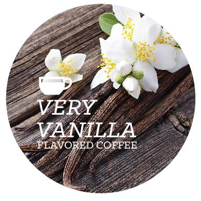 Flavored Coffee - Very Vanilla - Java Bean Plus