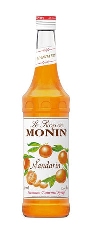 Monin® Syrups - Mandarin Orange - Case of 6/750 mL - Bulk Coffee Beans
