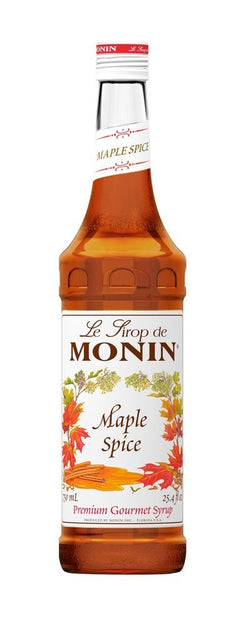 Monin® Syrups - Maple Spice - Case of 6/750 mL - Bulk Coffee Beans
