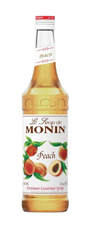Monin® Syrups - Peach - Case of 6/750 mL - Bulk Coffee Beans