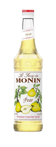 Monin® Syrups - Pear - Case of 6/750 mL - Bulk Coffee Beans