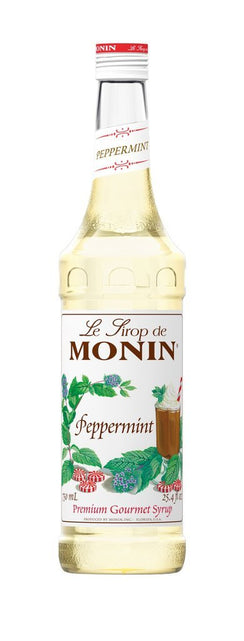 Monin® Syrups - Peppermint - Case of 6/750 mL - Bulk Coffee Beans