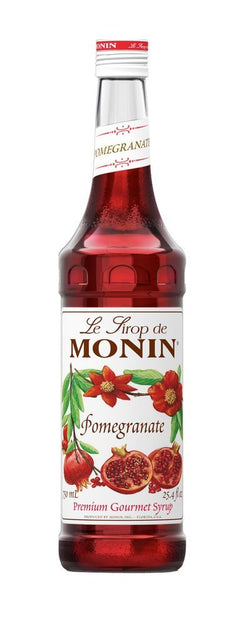 Monin® Syrups - Pomegranate - Case of 6/750 mL - Bulk Coffee Beans