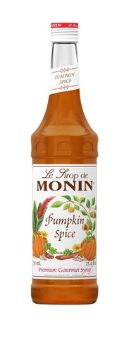 Monin® Syrups - Pumpkin Spice - Case of 6/750 mL - Bulk Coffee Beans