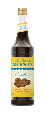 Monin® Syrups - Sugar Free Chocolate - Case of 6/750 mL - Bulk Coffee Beans