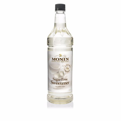 Monin® Syrups - Sugar Free Sweetener - Case of 6/1 Liter - Bulk Coffee Beans