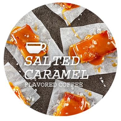 Salted Caramel Flavored Coffee Beans