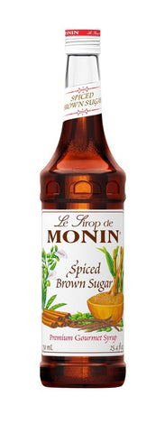 Monin® Syrups - Spiced Brown Sugar - Case of 6/1 Liter - Bulk Coffee Beans