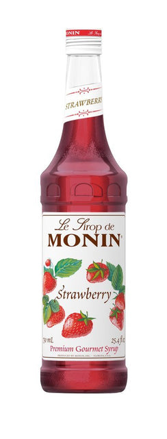Monin® Syrups - Strawberry - Case of 6/750 mL - Bulk Coffee Beans