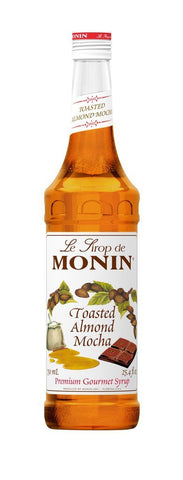 Monin® Syrups - Toasted Almond Mocha - Case of 6/750 mL - Bulk Coffee Beans