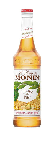 Monin® Syrups - Toffee Nut - Case of 6/750 mL - Bulk Coffee Beans