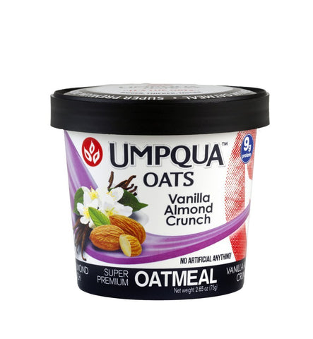 Umpqua® Oats Vanilla Almond Crunch - Case of 12/2.6 oz. - Bulk Coffee Beans
