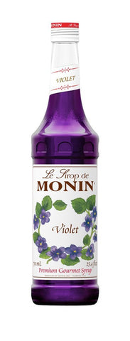 Monin® Syrups - Violet - Case of 6/750 mL - Bulk Coffee Beans