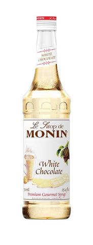 Monin® Syrups - White Chocolate - Case of 6/750 mL - Bulk Coffee Beans