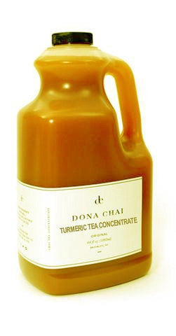 Dona® Chai Tumeric Tea Concentrate - 4 x 64.0 oz. - Bulk Coffee Beans