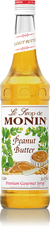 Monin® Syrups - Peanut Butter - Case of 6/750 mL - Bulk Coffee Beans