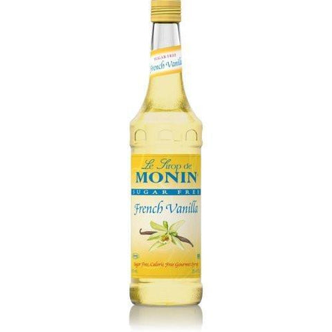 Monin® Syrups - Sugar Free French Vanilla - Case of 6/750 mL - Bulk Coffee Beans