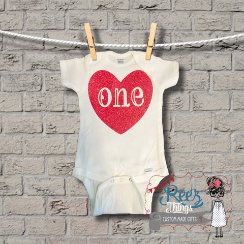 one, 1st Birthday, romper, creeper, bodysuit, infant, baby, shirt, onesie