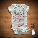 Daddy's Little Girl Bodysuit / Tshirt