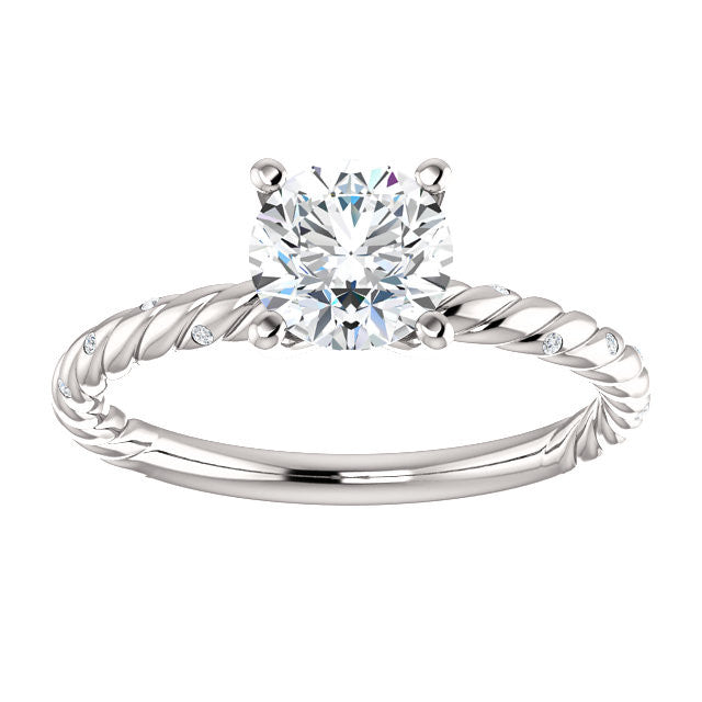 diamond bove celtic inc products with engagement jewelers collections charriol cable silver ring rings