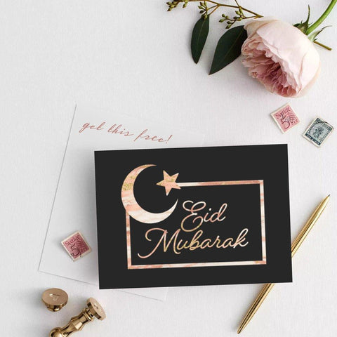 Eid Mubarak Card - Halal Goodies