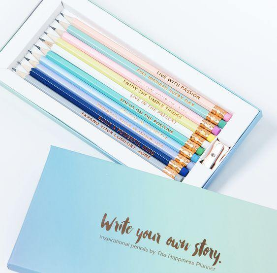Inspirational Pencils - Salam Gorgeous
