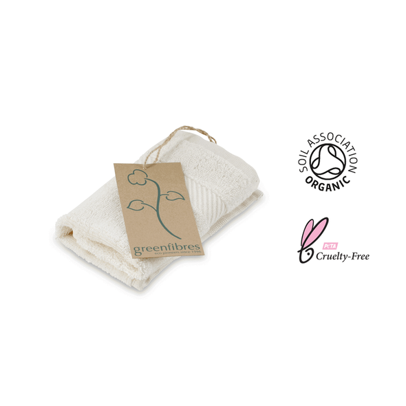 Organic Terry Cotton Wash Cloth
