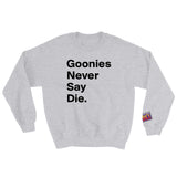 Goonies Never Say Die Design
