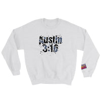 Austin 3:16 Shattered Glass Design