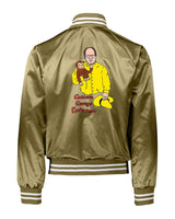 Throwback x Gripless Curious George Satin Jacket