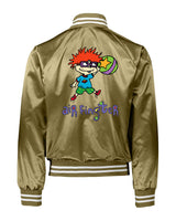 Throwback x Gripless Air Finster Satin Jacket