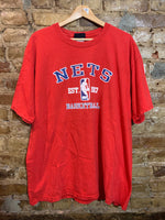 New Jersey Nets Locker Room Tshirt XL