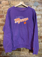 Clemson Tigers Embroidered Crewneck L