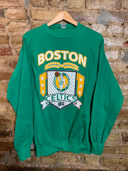 Boston Celtics Big Logo Crewneck M