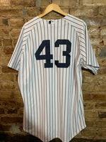 Yankees #43 Authentic Jersey size XL