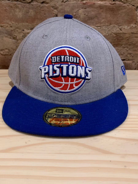 Detroit Pistons Low Profile Fitted Cap 7 5/8