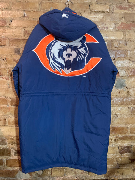 Chicago Bears Stadium Trench Coat M