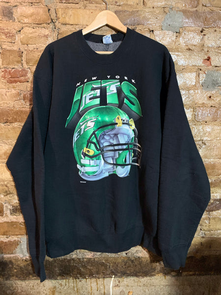 New York Jets Big Helmet Crewneck XL