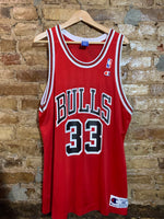 Chicago Bulls Scottie Pippen Jersey Sz 48