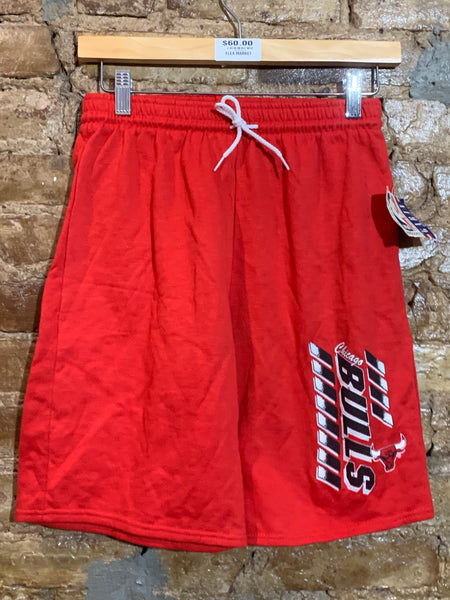 Chicago Bulls Cotton Sweat Shorts Sz Youth XL/ Adult M