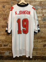 Keyshawn Johnson Tampa bay buccaneers 2xl
